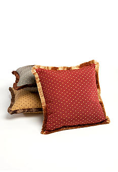 Home Fashion Int'l Solitaire Decorative Pillow