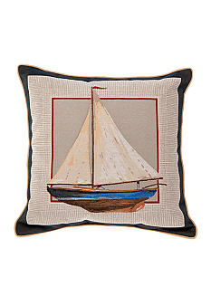 Brentwood Sailboat Decorative Pillow