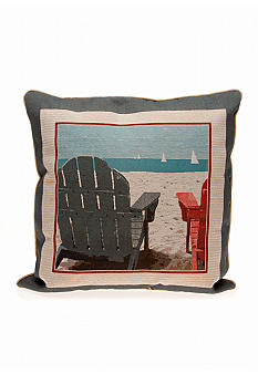 Adirondack Chair Decorative Pillow