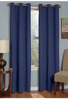 Eclipse Microfiber Grommet Blackout Window Curtain Panel - Online Only
