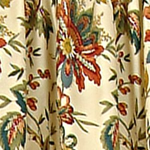 Discount Curtains: Cream Waverly FELICITE VAL CREME 5