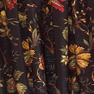 Discount Curtains: Noir Waverly FELICITE