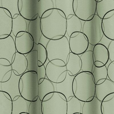 Solid Curtains: Sage Eclipse™ MERID BLU 42X95 PANE