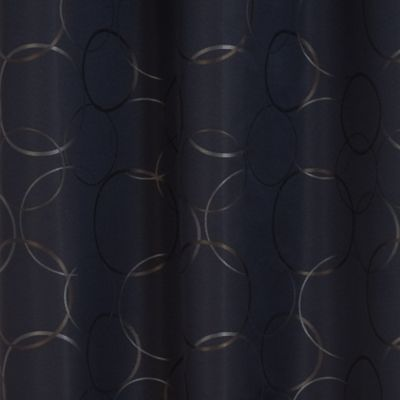 Curtains: Black Eclipse™ MERID BLK 42X95 PANE