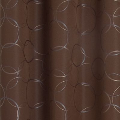 Curtains: Chocolate Eclipse™ MERID BLK 42X95 PANE