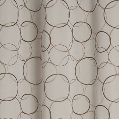 Solid Curtains: Linen Eclipse™ ECLIPISE MERIDIAN PANEL, LINEN