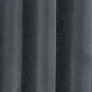 Solid Curtains: Stone Blue Absolute Zero VEL BO HOME PANEL