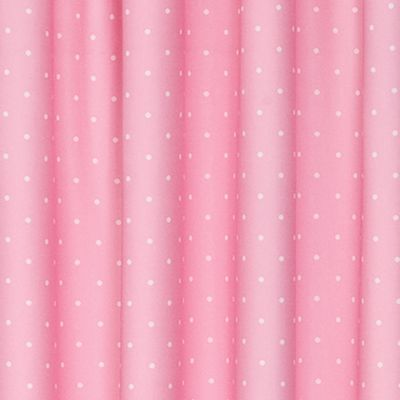 Patterned Curtains: Pink Eclipse™ POLKA PNK 42X84 PANE