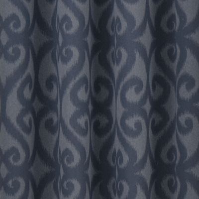 Patterned Curtains: Storm Blue Eclipse™ PAT BLU 52X84 PANEL