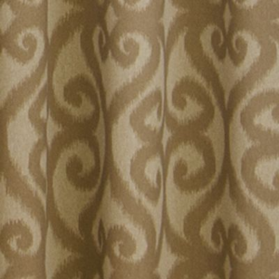 Patterned Curtains: Cafe Eclipse™ PAT BLU 52X84 PANEL