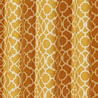 Patterned Curtains: Mimosa Waverly Lovely Lattice Valance