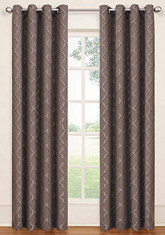 Eclipse™ ECLIPSE TIPTON TRELLIS BLACKOUT GROMMET WINDOW PANEL
