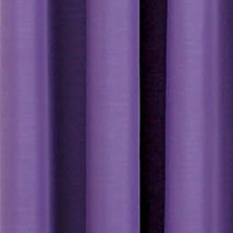 Solid Curtains: Purple Eclipse™ ECLIPSE RUFFLE BATISTE BLACKOUT WINDOW PANEL