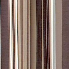 Patterned Curtains: Brown Parasol™ PARASOL WINDLEY KEY STRIPE CHL PANEL