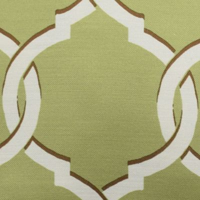 Decorative Pillows: Lime Parasol™ PARASOL TOTTEN KEY TRELLIS TAN DEC