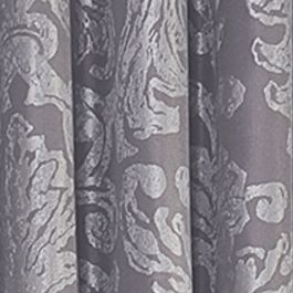 Patterned Curtains: Gray Vue Signature VS ARGUELLO RD H PLUM 52X95