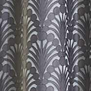 Patterned Curtains: Gray Vue Signature VS FALLON RD GRAY 52X84