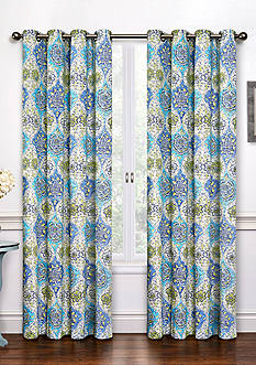 Waverly KINGS TURBAN CURTAIN PANELS
