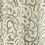 Patterned Curtains: Grey Waverly DO THE TWIST WINDOW PANEL