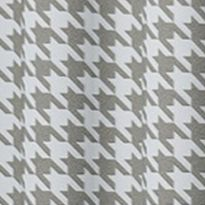 Patterned Curtains: Gray Eclipse™ ECL MY SCN BXLY BLCKT PANEL RASP 52X84