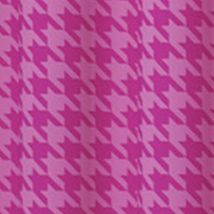 Patterned Curtains: Raspberry Eclipse™ ECL MY SCN BXLY BLCKT PANEL RASP 52X84