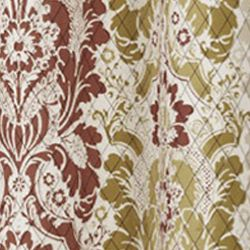 Patterned Curtains: Jewel Eclipse™ VS SHYLA TPNL NEUTRL 95X52