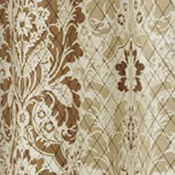 Patterned Curtains: Natural Eclipse™ VS SHYLA TPNL NEUTRL 95X52