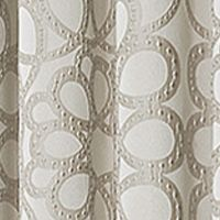 Patterned Curtains: Natural Vue Signature VS JESSIE TLYR NEUTRL 95X52