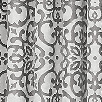 Patterned Curtains: Black Vue Signature VS LYRIC JAC T LAYER GLD 95X52