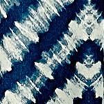 Patterned Curtains: Indigo Vue Signature VS KANOKO DRP PNL GREY 52X95