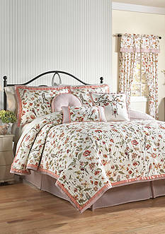 Waverly RETWEET KING QUILT SET