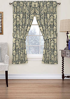 Waverly Clifton Hall Floral Window Curtain