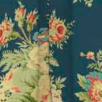 Patterned Curtains: Heritage Waverly Sanctuary Rose Floral Window Curtain
