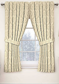 Waverly Donnington Damask Window Curtain