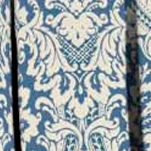 Waverly Curtains: Cornflower Waverly Donnington Damask Window Curtain