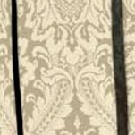 Waverly Curtains: Linen Waverly Donnington Damask Window Curtain