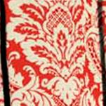 Waverly Curtains: Crimson Waverly Donnington Box Pleat Valance