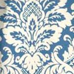 Patterned Curtains: Cornflower Waverly Donnington Window Tier Pair