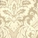 Patterned Curtains: Linen Waverly Donnington Window Tier Pair