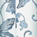 Eclipse™ For The Home Sale: Indigo Eclipse™ Eclipse Wythe Floral Light Filtering Sheer Curtain