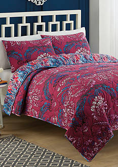 Vue Tao Reversible 3 Piece Quilt Set