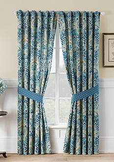 Waverly Moonlit Shadows Curtain Panel Pair