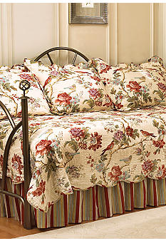 Waverly Charleston Chirp 5-piece Daybed Cover Quilt Set - Online Only