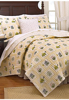 Historic Charleston Green House Reversible Quilt Collection