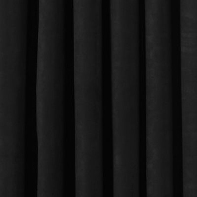 Discount Window Treatments: Black Eclipse™ PLUSH SOLID BLKOUT P