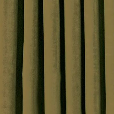 Solid Curtains: Olive Eclipse™ PLUSH SOLID BLKOUT P