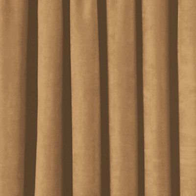 Solid Curtains: Golden Sand Eclipse™ PLUSH SOLID BLKOUT P