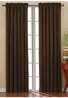 Eclipse Suede Blackout Window Curtain Panel - Online Only