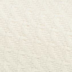 Bed Linens: Rich Ivory Home Accents HERRINGBONE F/QN