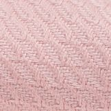Bed Linens: Colter Pink Home Accents HERRINGBONE F/QN
